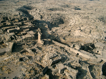 Site de Shaara (photo cerf-volant Y. Guichard)
