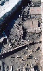 Maison du canal (Bronze Moyen) Cliché ArScAn - Protohistoire égéenne